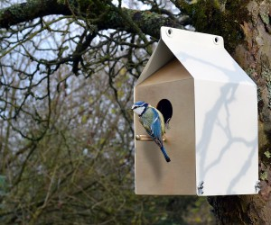 Singing its own song: sustainable birdhouses by Jam furniture