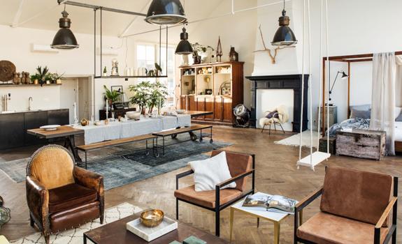 Eclectic interior design Adorable Home