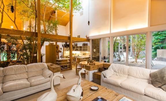 Amazing rustic living room