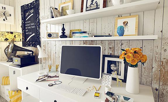 10 Fresh Home Office Design Ideas