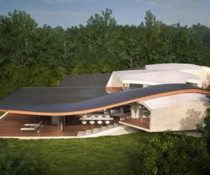Futuristic house architecture: House Birkensee, Austria
