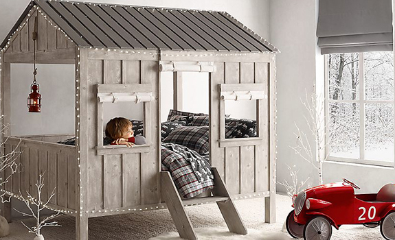 The Children's Cabin Bed