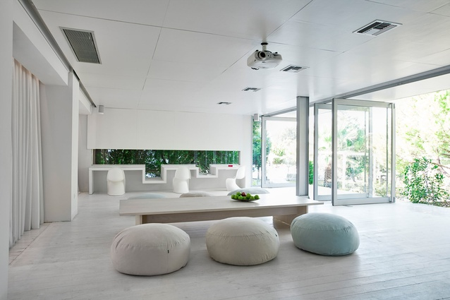 Rendered in a modern Greek aesthetic boutique hotel Halkidiki Peninsula