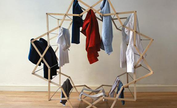 Star Shaped Drying Rack
