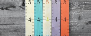 Eco-friendly ruler growth chart