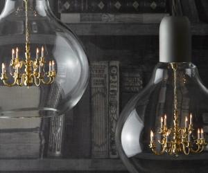 The King Edison: a unique pendant lamp