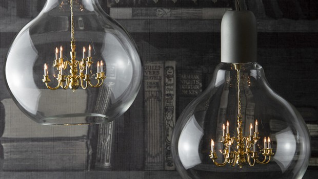 The King Edison: a unique pendant lamp