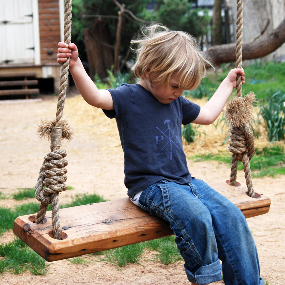 A tree swing of childhood dreams