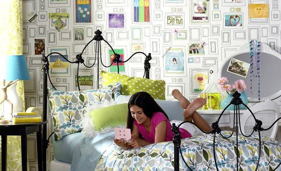 Colorful wallpaper design