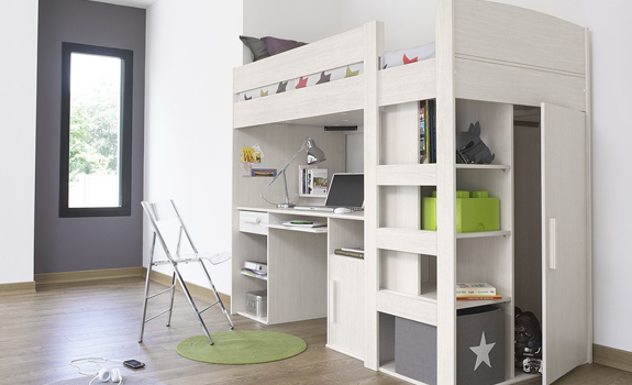 Stylish Children Loft Bed