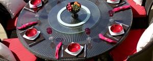 Garden party outdoor 7-piece lounge set