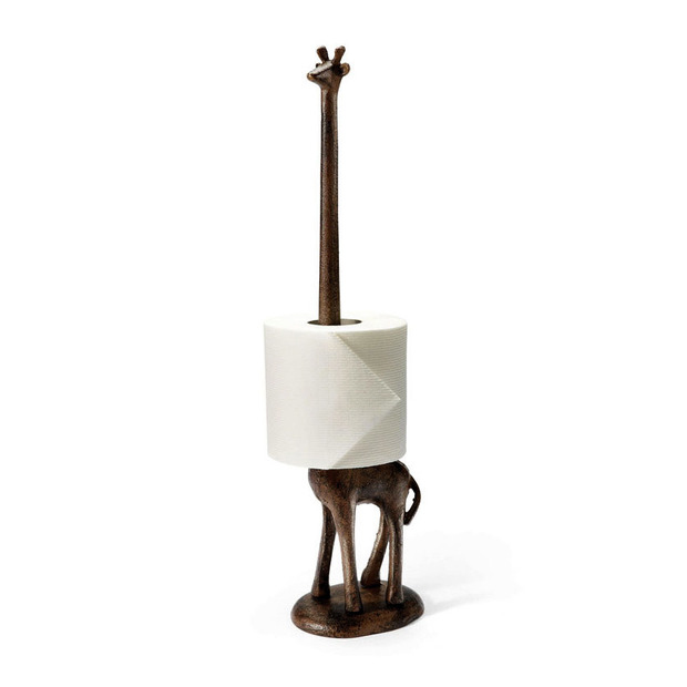 safari meets toilet paper holder adorable home. Black Bedroom Furniture Sets. Home Design Ideas