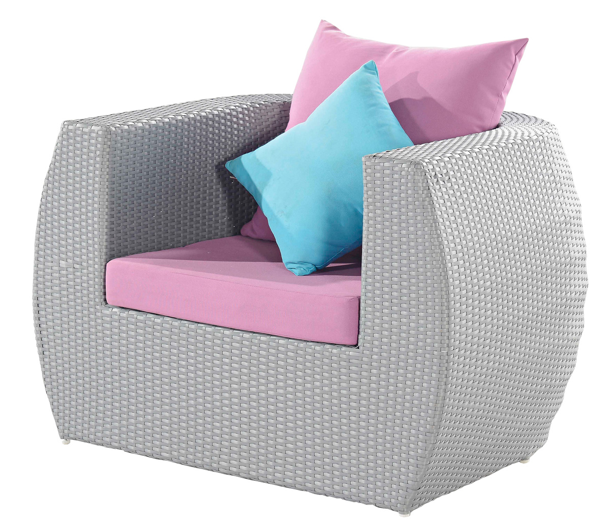 Gray And Lilac Outdoor Furniture Set Adorable Home