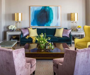 Penthouse dreams, chic interiors