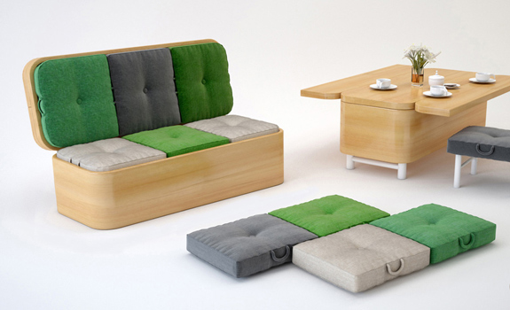 Space Saving Convertible Furniture Adorable Home