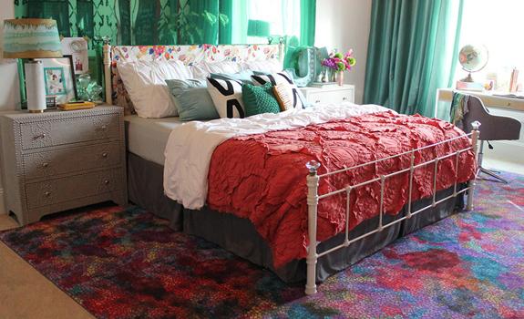 Colorful Teenage Girl Bedroom