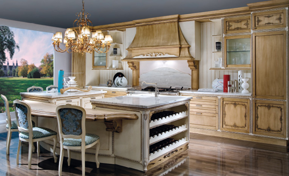 Baroque Style Kitchen Design