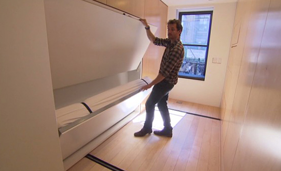 Foldable Apartment in Manhattan