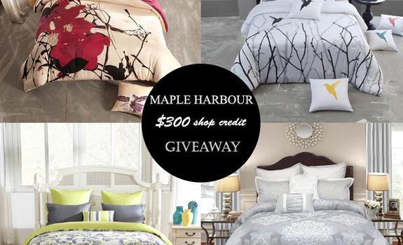 Maple Harbour Bedding