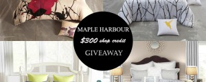 Maple Harbour Bedding [GIVEAWAY]