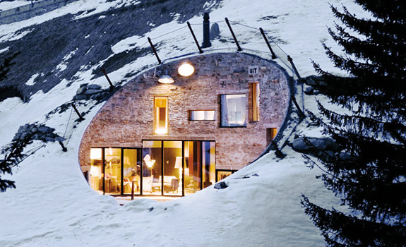 Underground Mountain House Switzerland Adorable Home