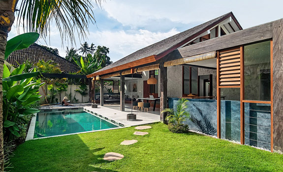 Shaking Up The Routine Modern Tropical Villa In Bali