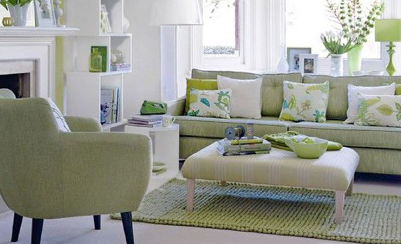 Lovely Spring Living Room Decorating Ideas