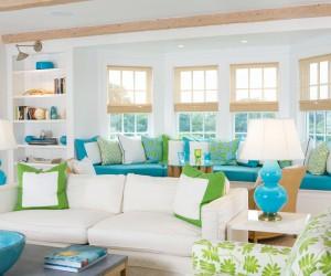 Adorable summer home interiors by Lynn Morgan