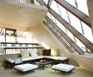 Moving up the spiral of contemporary house interiors