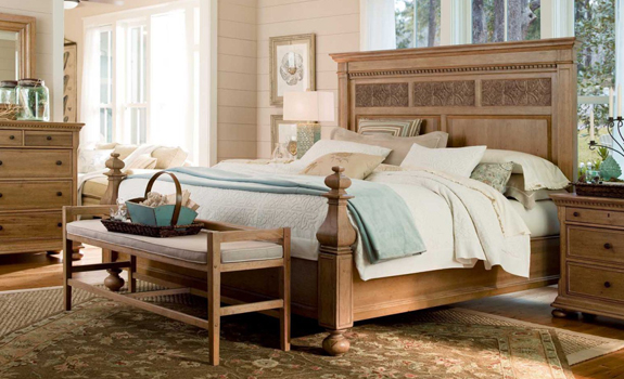 Country bedroom design