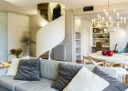 Sophisticated small residence in Milan Italy