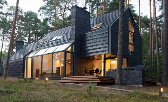 The Black House Blues Village House Adorable Home