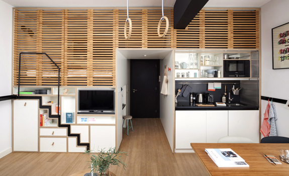 The Zoku Space-saving Hotel Concept - photo of a room