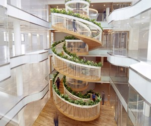 Breathing life into a spiral staircase design