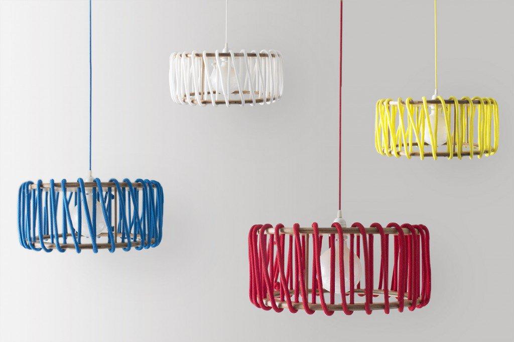 Macaron lamp - different colors