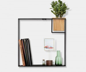 Cubist: a minimalist shelf