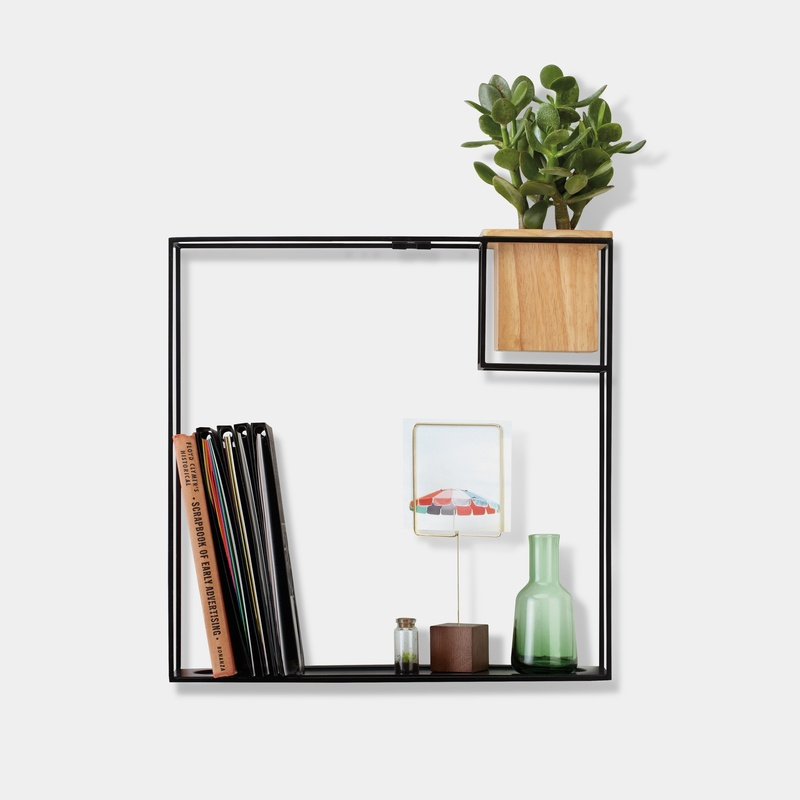 Cubist: a minimalist shelf