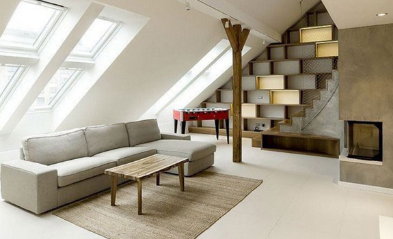 Kissed By Style Attic Loft In Prague Adorable Home