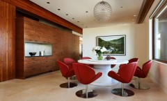 dining room in balsam residence