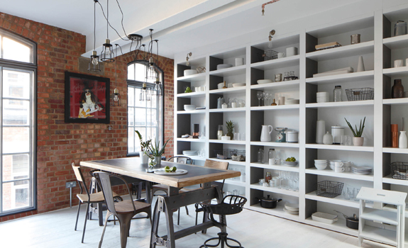 Industrial interior designAdorable Home