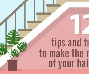 12 tips and tricks to make the most of your hallway