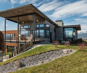 The J.H. modern mountain residence