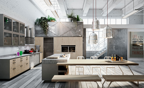The Royalty of Kitchen Design: Loft-Style Kitchens – Adorable Home
