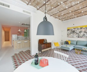 Tyche Apartment: Pastel Interiors and a Romance with the Past