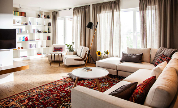 Eclectic apartment