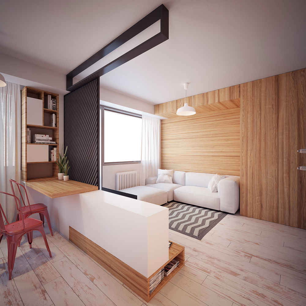 Tiny Apartment: Modern Tiny Apartment In Macedonia