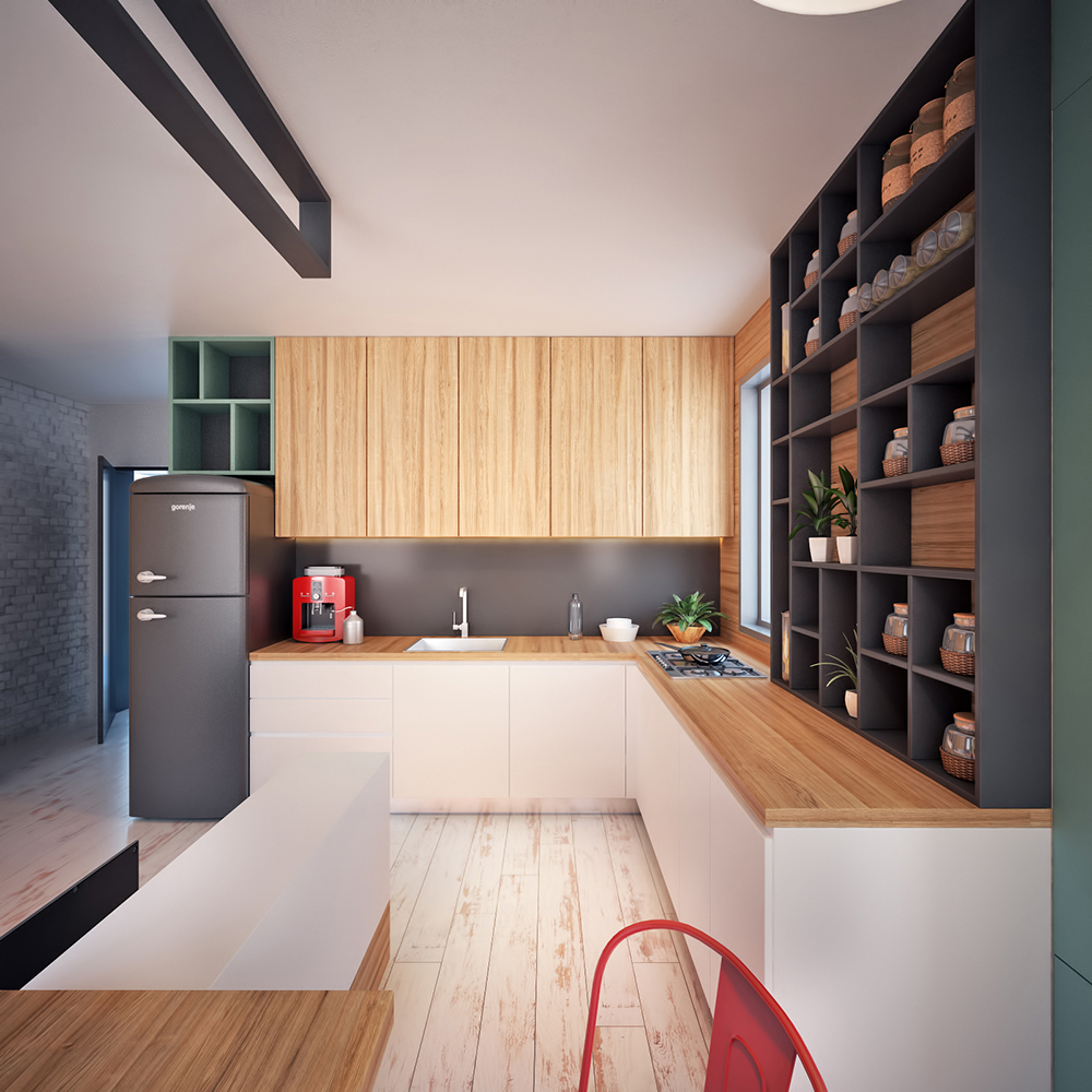 Modern Tiny Apartment In Macedonia Adorable Home