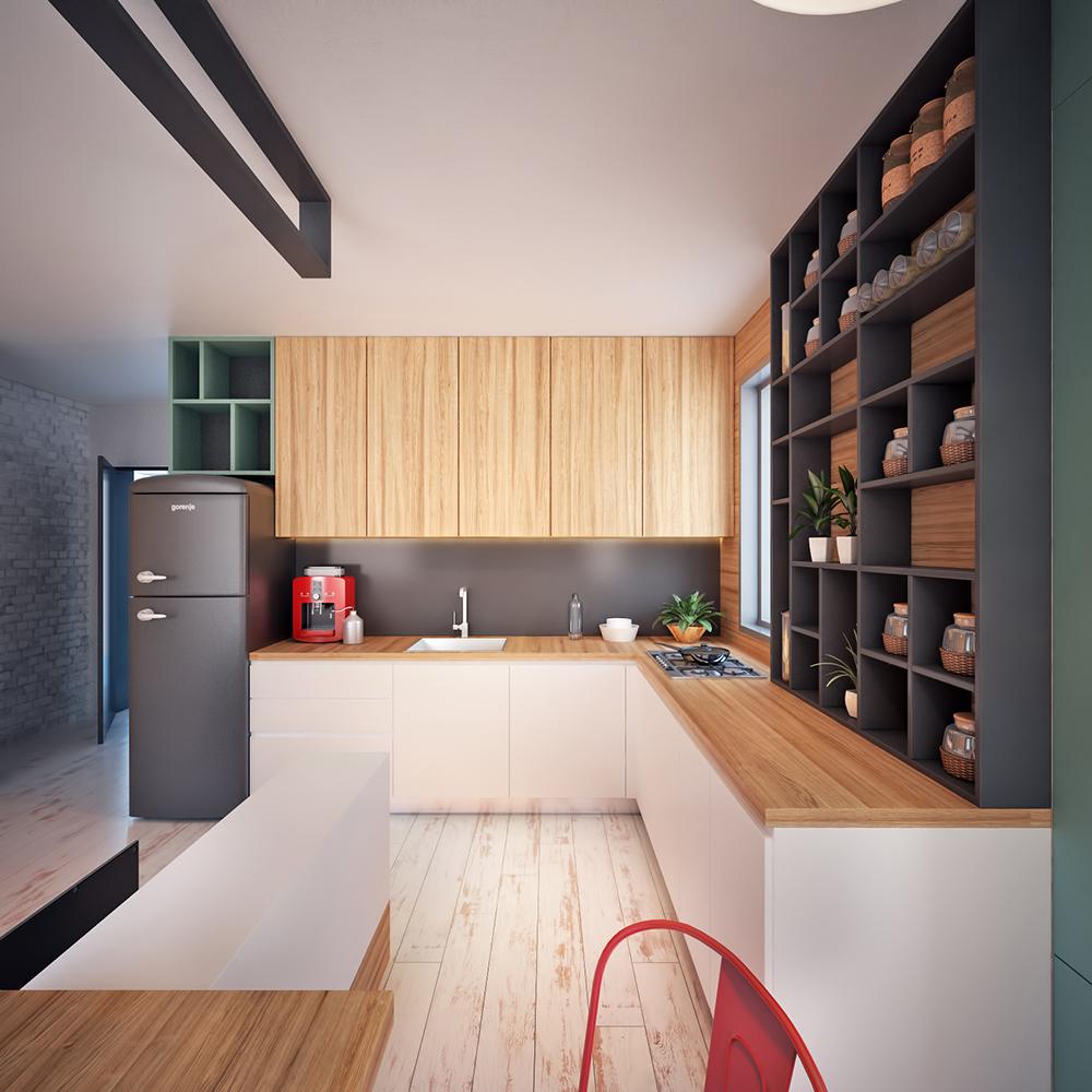 Tiny Apartments: Modern Tiny Apartment In Macedonia
