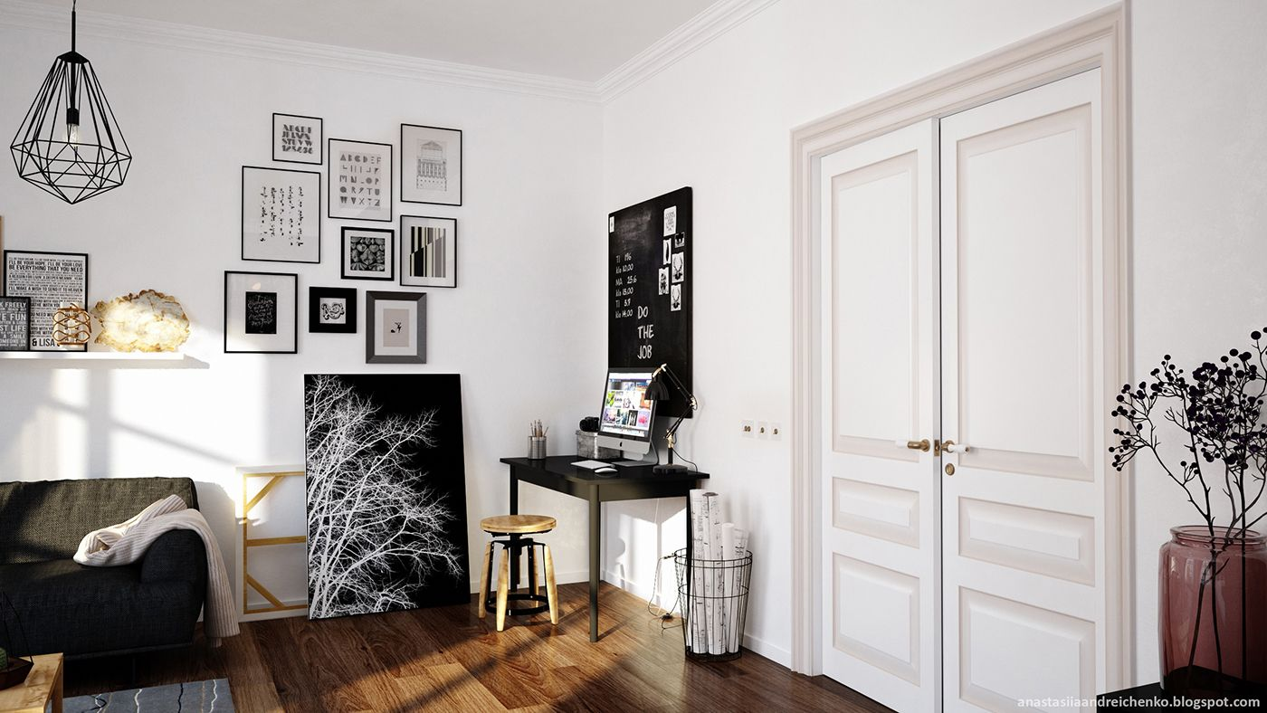 Interior Decorating: Delving In Monochrome Interior Design