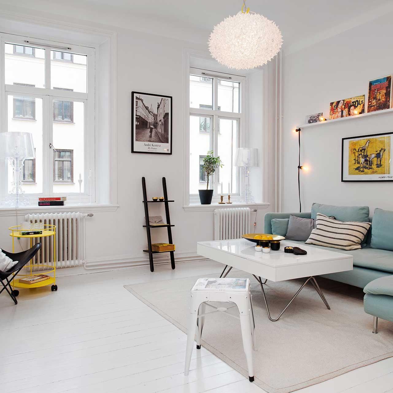 Bright Scandinavian living room